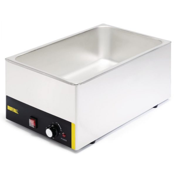 Buffalo Bain Marie Without Pans Pot Cookware Commercial Electric Warmer