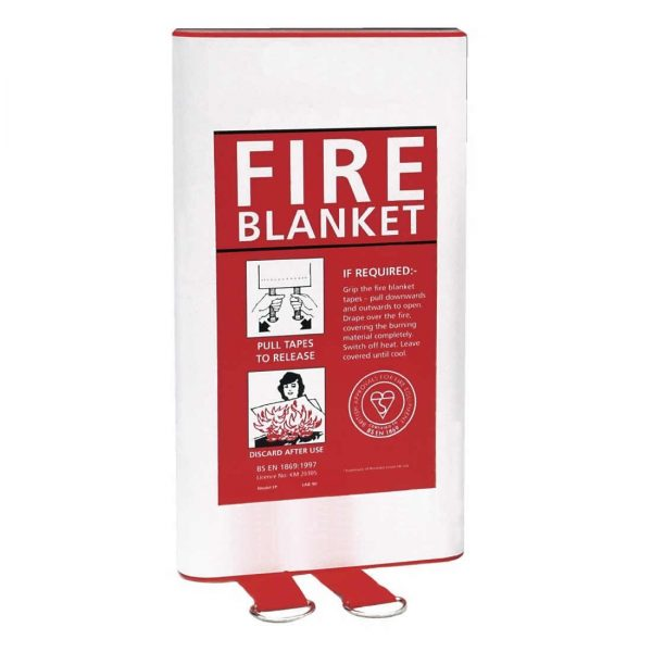 Fire blanket 1.2x 1.2m reliable and easy to store