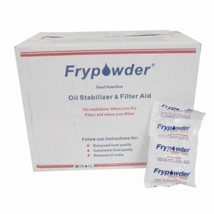 Frypower fryer clean oil