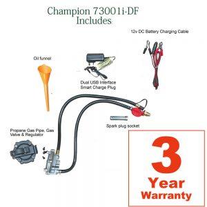 lpg generator accessories dual fuel