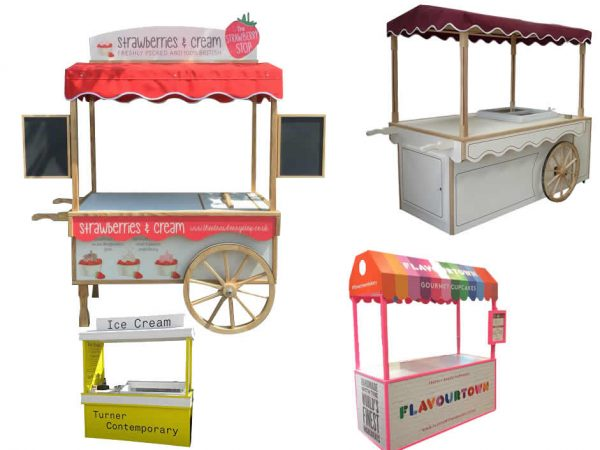 catering carts for mobile catering