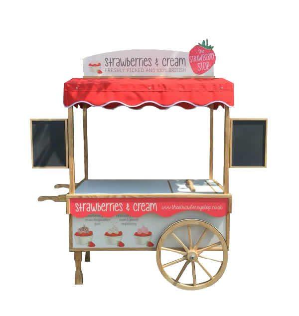 catering carts custom made