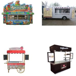 Mobile Catering Vehicles