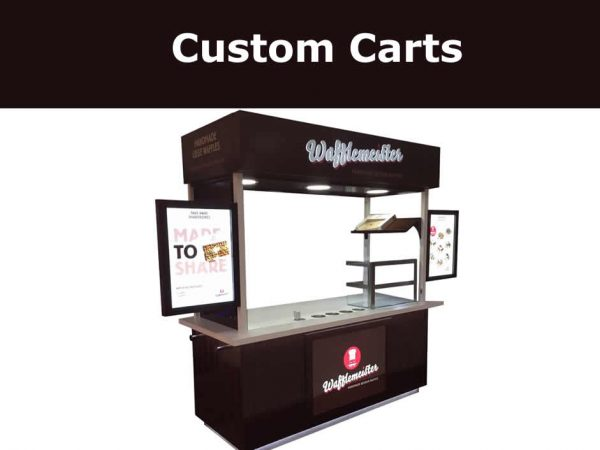 custom food carts for food catering