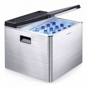 gas coolbox 12volts mobile catering with 12 bottles