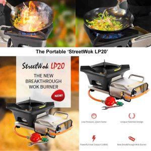 lpg mobile catering street wok