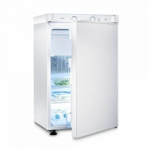 mobile catering fridge gas 2 way front
