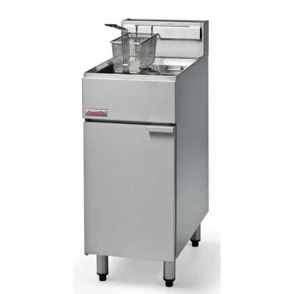 propance gas standing fryer catering equipment