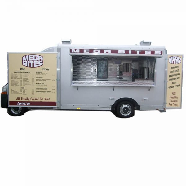 mobile catering van for sale