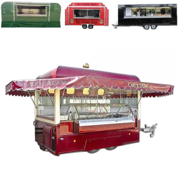pro range catering food trailers for sale