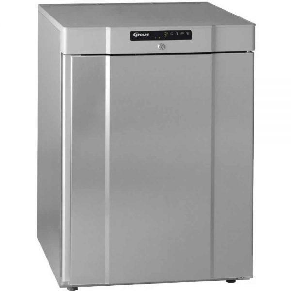 undercounter fridge stainless steel gram