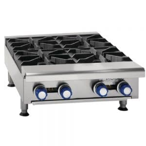 propane 4 burner boiling table catering equipment