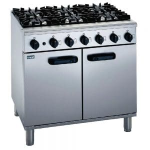 6-burner-propane-gas-oven catering equipment