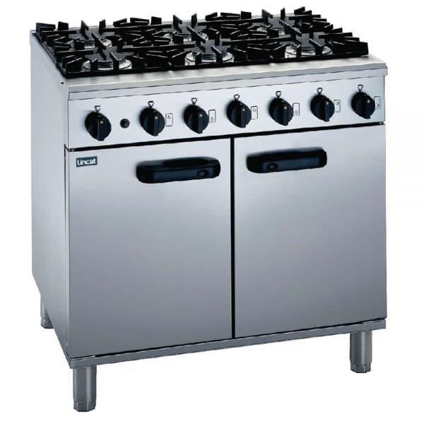 6-burner-propane-gas-oven catering equipment