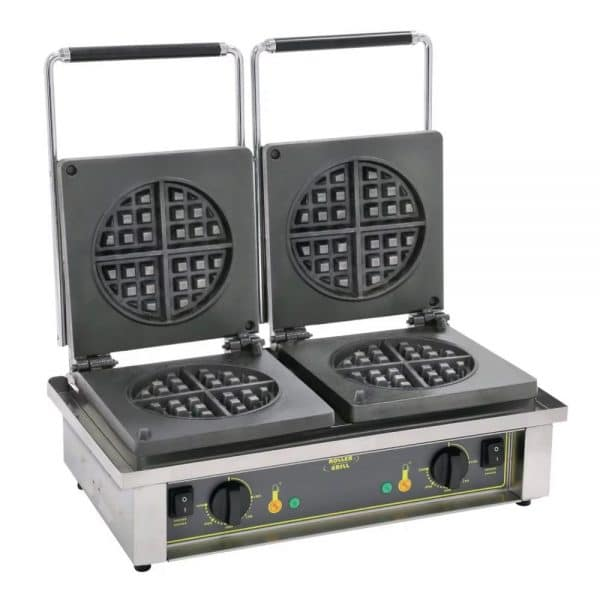 double plate waffle maker catering equipment