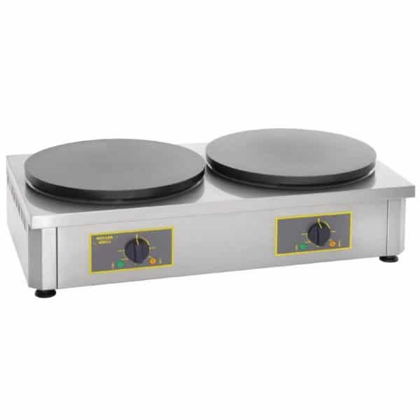 electric double crepe machine catering equipment
