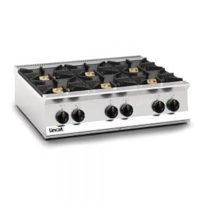 propane gas 6 burner-boiling top right catering equipment