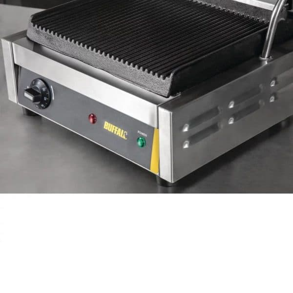 catering equipment contact grill ribbed