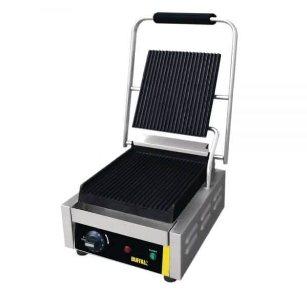 contact grill ribbed catering equipment