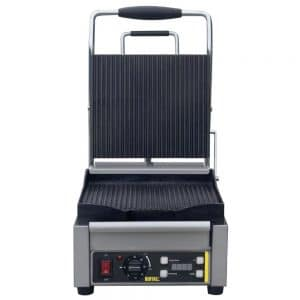 single-contact-grill-ribbed-plates-front-L501