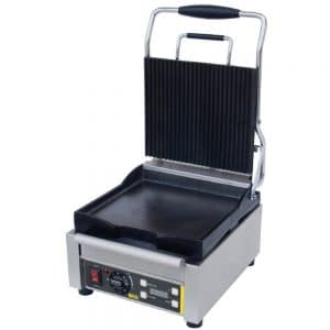 single contact grill-ribbed catering equipment