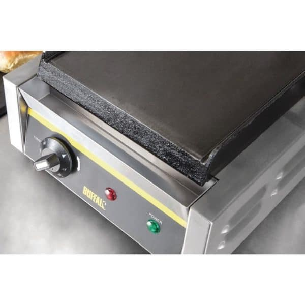 single flat plate grill catering equipment