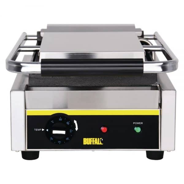 single flat contact grill catering equipment