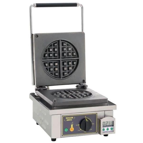single round waffle machine catering equipment