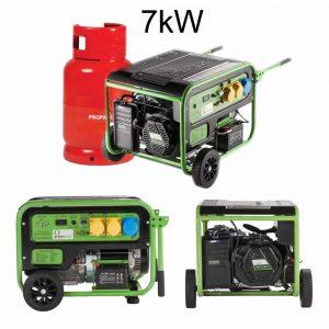 lpg gas generator 7kw
