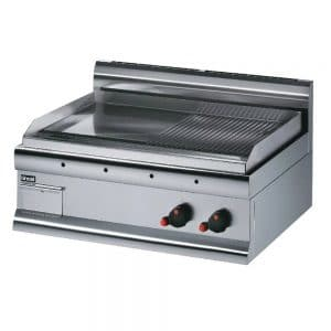 lpg-griddle-half-ribbed catering griddle