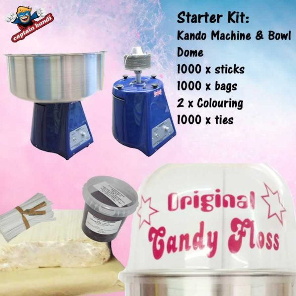 candy floss business kit