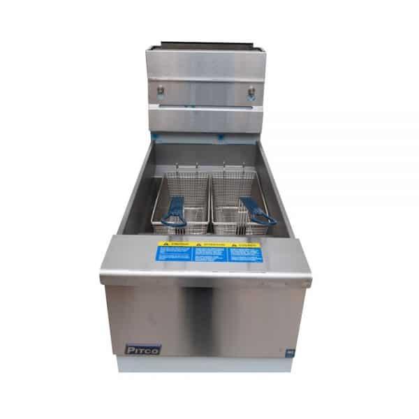fryer-lpg-pitco-SG14S-front-burner