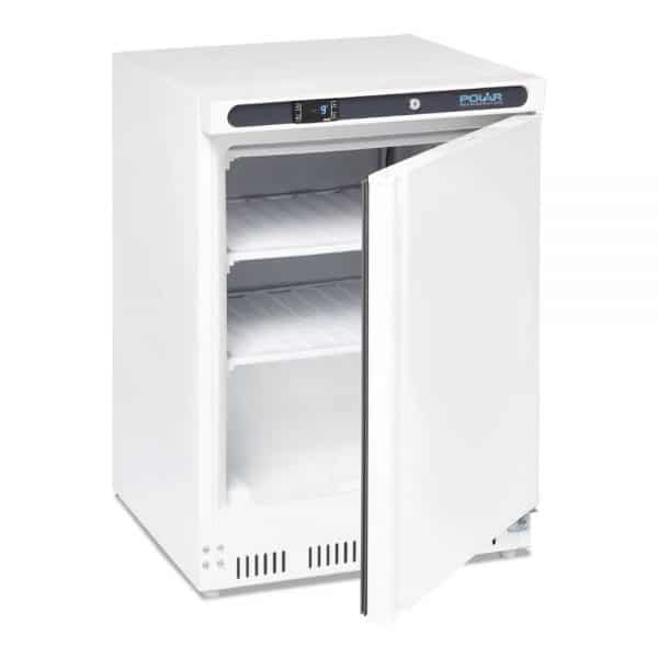 under-counter-freezer-whit-140Ltr catering freezer front