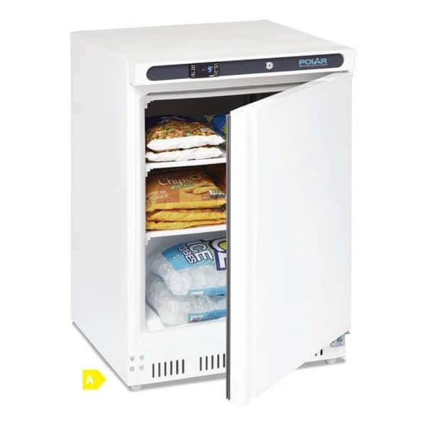 under-counter-freezer-whit-140Ltr commercial quality