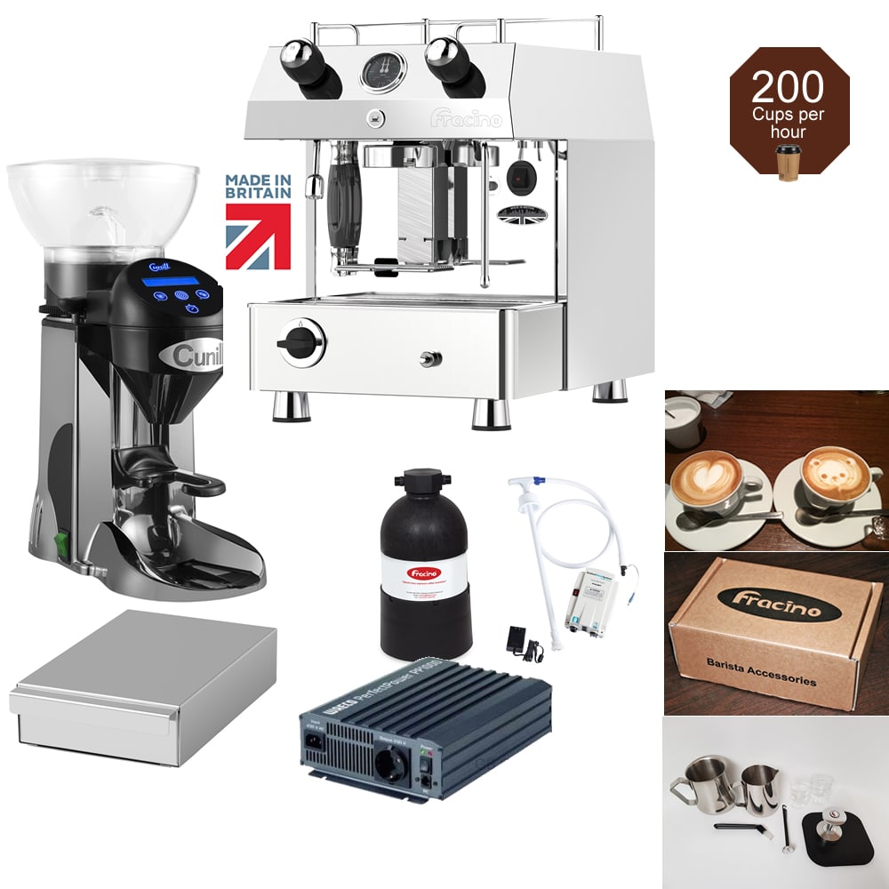 start mobile coffee business lpg coffee machine