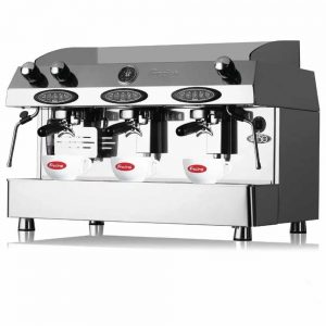 contempo 3 group coffee machine automatic