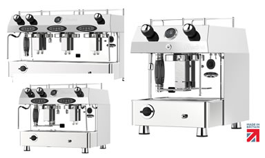 dual fuel lpg coffee machine