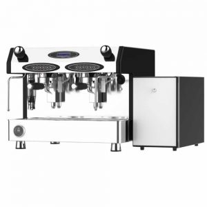 https://mobfracino velocino2 espresso coffee machine including 4l fridge electric