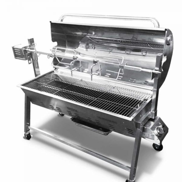 gas-charcoal-spit-combi-oven-front