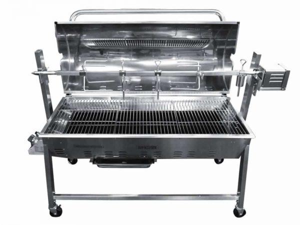 gas-charcoal-split-combi-oven-front