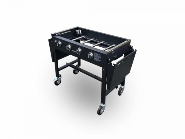 gas-griddle open