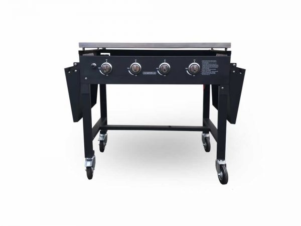 gas griddle front
