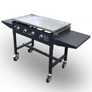 gas griddle for outside catering