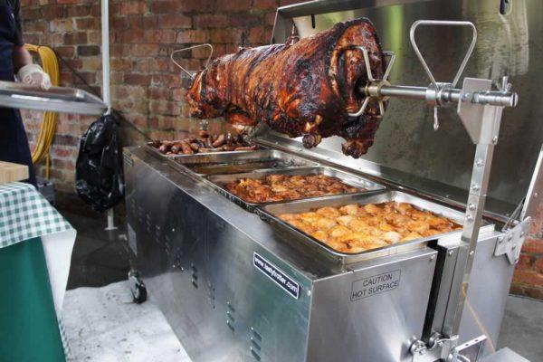 hog roast bbq pro machine