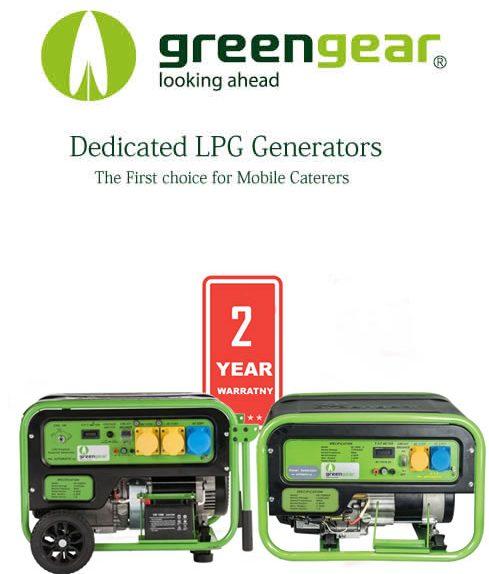 lpg gas generators