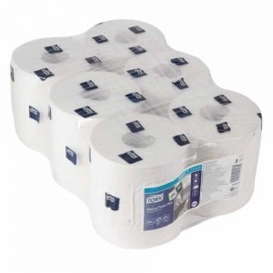 white-roll-centrefeed-refills 6 pack
