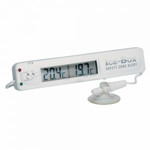fridge freezer thermometer alarm