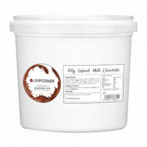 liquid milk chocolate