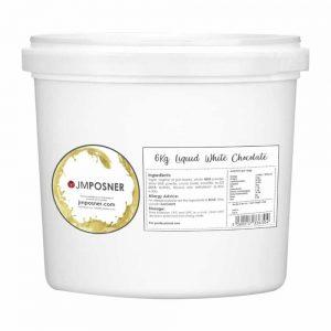 liquid white chocolate