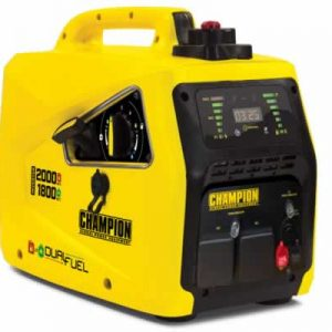 dual fuel lpg inverter generator